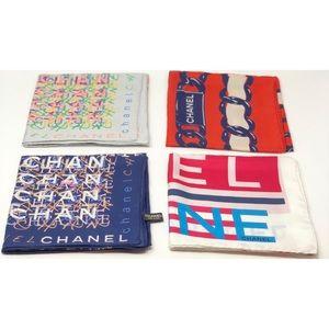 CHANEL Accessories - Chanel silk square scarf